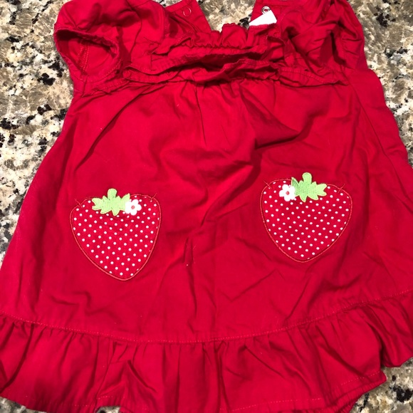 Gymboree Other - Gymboree red strawberry dress 6-12 month